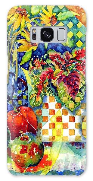 Fruit And Coleus Galaxy Case