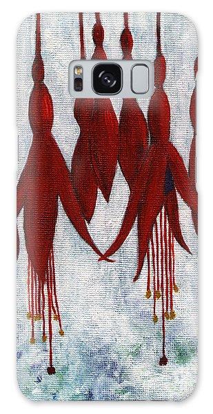 Fuchsia Galaxy Case by Barbara Moignard