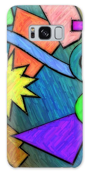 Funky Fanfare Galaxy Case by Kyle West