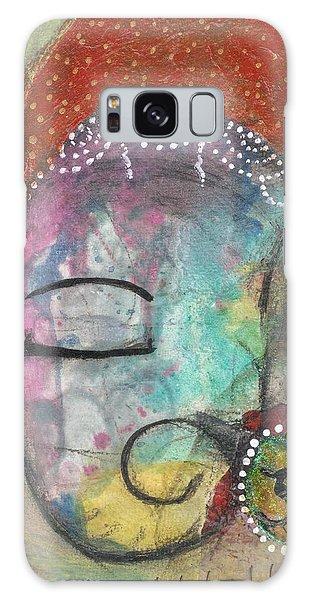 Galaxy Case featuring the mixed media Ganesha by Prerna Poojara