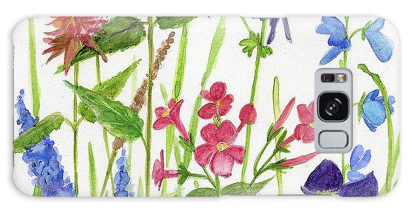 Garden Flowers Galaxy Case