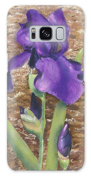 Garden Iris Galaxy Case