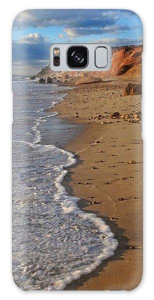 Gayhead Cliffs Marthas Vineyard Galaxy Case by Dave Mills