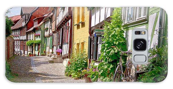 German Old Village Quedlinburg Galaxy Case