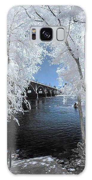 Gervais St. Bridge In Surreal Light Galaxy Case