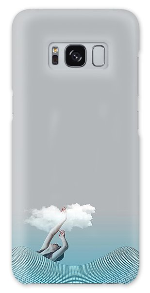 Minimal Galaxy Case - Girl In Soul by Caterina Theoharidou
