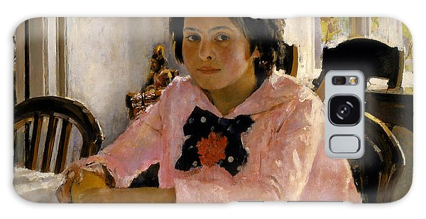 Russian Impressionism Galaxy Case - Girl With Peaches by Valentin Serov