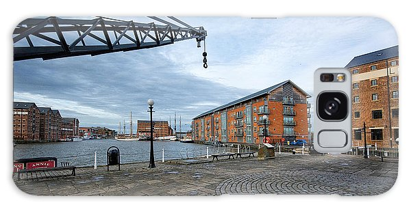 Dock Galaxy S8 Case - Gloucester Docks by Smart Aviation
