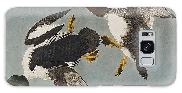 Golden-eye Duck  Galaxy Case by John James Audubon