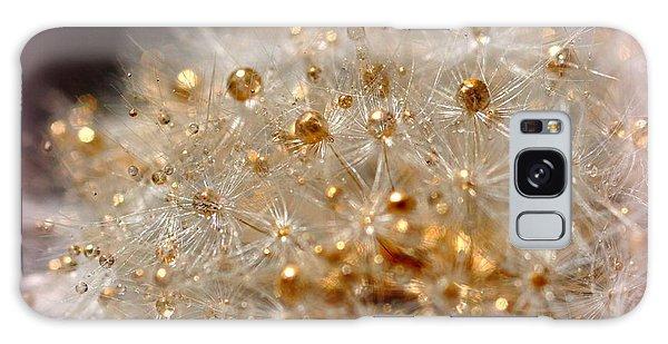 Golden Flower Galaxy Case