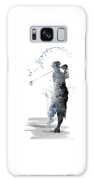 Golfer Galaxy Case