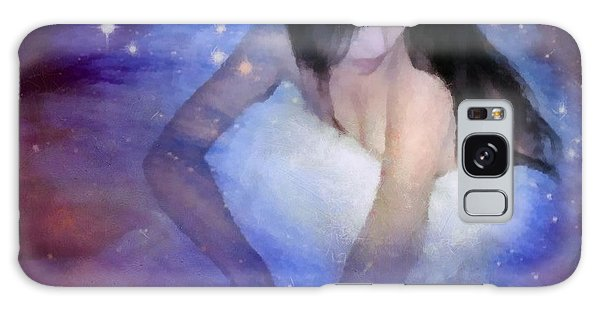 Good Night Galaxy Case by Gun Legler