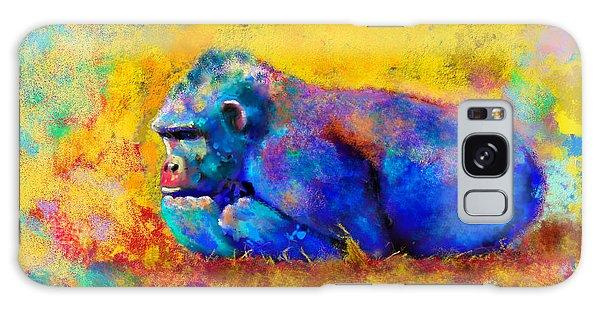 Gorilla Galaxy S8 Case - Gorilla Gorilla by Betty LaRue