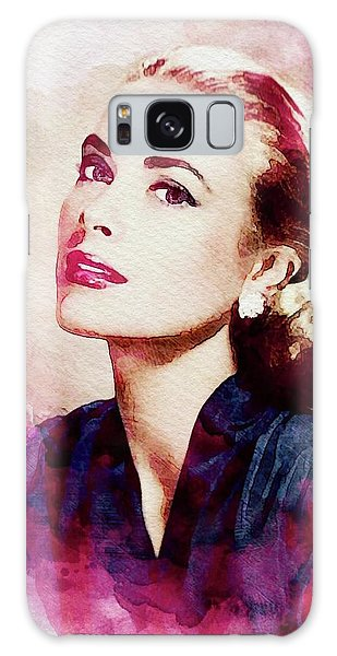Grace Kelly, Vintage Actress Galaxy Case