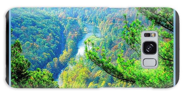 Wellsboro Galaxy Case - Grand Canyon Of Pennsylvania, Wellsboro by A Gurmankin