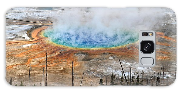 Fairy Pools Galaxy S8 Case - Grand Prismatic Springs In Yellowstone National Park by Pierre Leclerc Photography