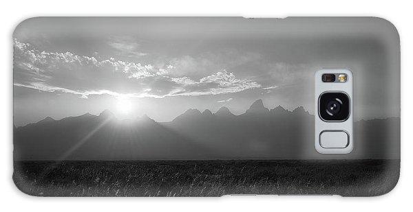 Teton Range Galaxy Case - Grand Teton Open Plains Sunset by Michael Ver Sprill