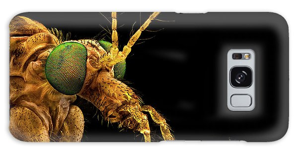 Green Eyed Crane Fly Galaxy Case
