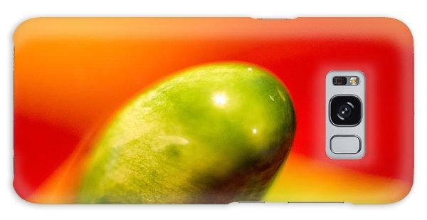 Green Red Liquid Clay Galaxy Case