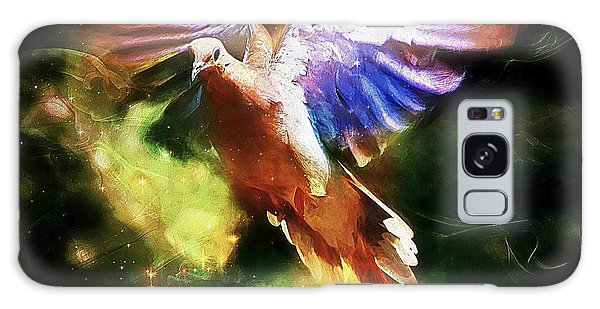 Guardian Angel Galaxy Case by Tina  LeCour