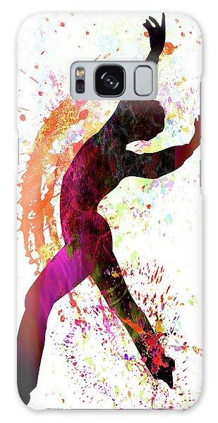 Sportsman Galaxy Case - Gymnast by Elena Kosvincheva