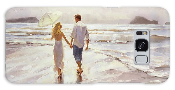 Galaxy Case featuring the painting Hand In Hand by Steve Henderson