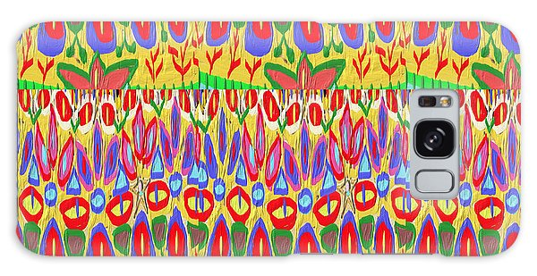 Happy Celebrations Abstract Acrylic Painting Fineart From Navinjoshi At Fineartamerica.com These Gra Galaxy Case by Navin Joshi