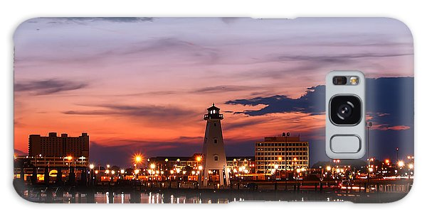 Harbor Lights Galaxy Case by Brian Wright