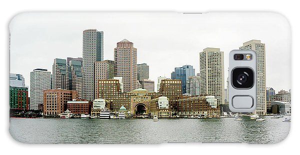 Harbor View Galaxy Case by Greg Fortier