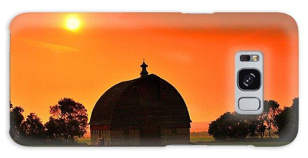 Harvest Sunset  Galaxy Case
