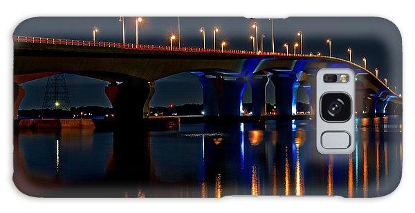 Hathaway Bridge At Night Galaxy Case