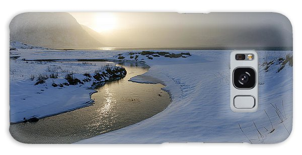 Haukland Beach, Lofoten Galaxy Case