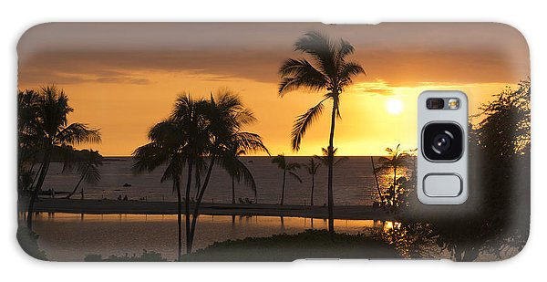 Hawaiian Sunset Galaxy Case by Loriannah Hespe