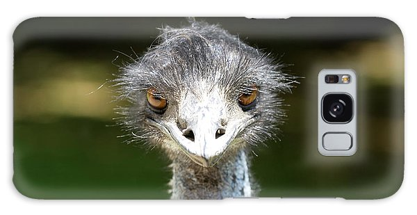 Head Of Ostrich Galaxy Case