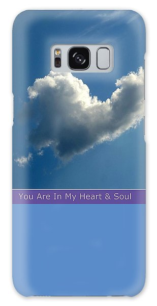 Heart Cloud Sedona Galaxy Case by Marlene Rose Besso