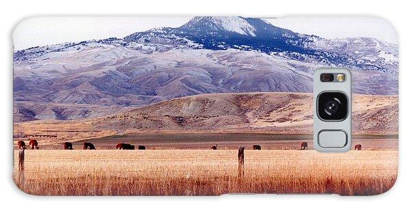 Hart Mountain - Cody,  Wyoming Galaxy Case