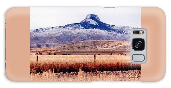 Heart Mountain - Cody,  Wyoming Galaxy Case