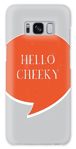 Thought Galaxy Case - Hello Cheeky by Samuel Whitton