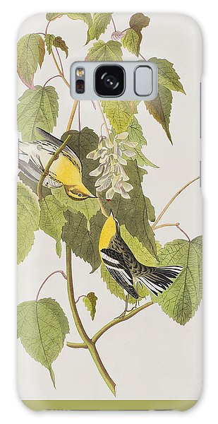 Hemlock Warbler Galaxy Case by John James Audubon