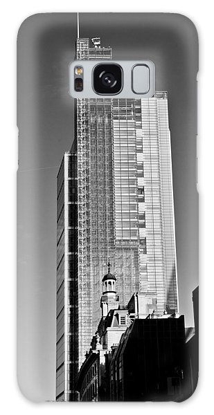 Heron Tower London Black And White Galaxy Case
