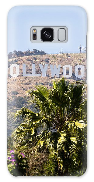 Hollywood Sign Photo Galaxy Case by Paul Velgos