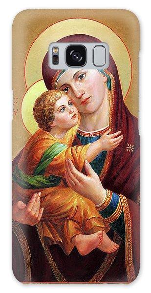 Galaxy Case - Holy Mother Of God - Blessed Virgin Mary by Svitozar Nenyuk