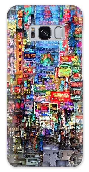 Hong Kong City Nightlife Galaxy Case