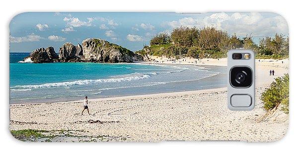 Horseshoe Bay In Bermuda Galaxy Case