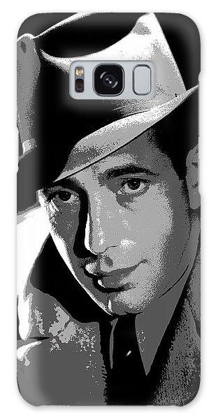 Humphrey Bogart Galaxy Case by Charles Shoup