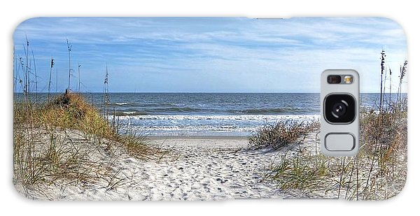 Huntington Beach South Carolina Galaxy Case by Kathy Baccari