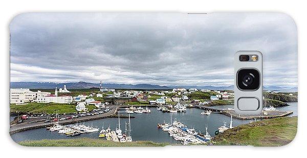 Iceland Fisherman Harbor Galaxy Case