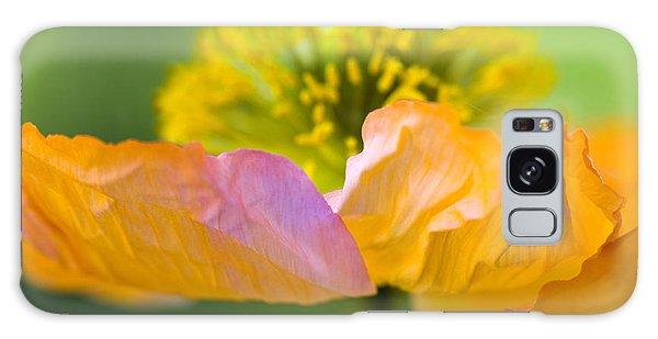 Petal Galaxy Case - Iceland Poppy by Silke Magino