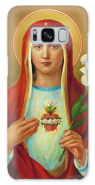 Galaxy Case - Immaculate Heart Of Mary by Svitozar Nenyuk