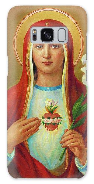 Galaxy Case - Immaculate Heart Of Mary by Svitozar Nenyuk